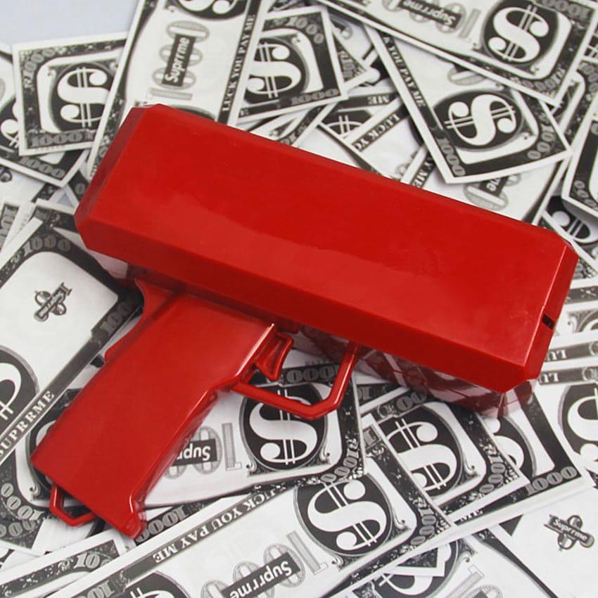 Pistolet distributeur de billets