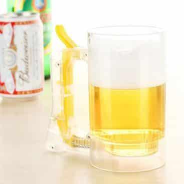 verre à bière mousse