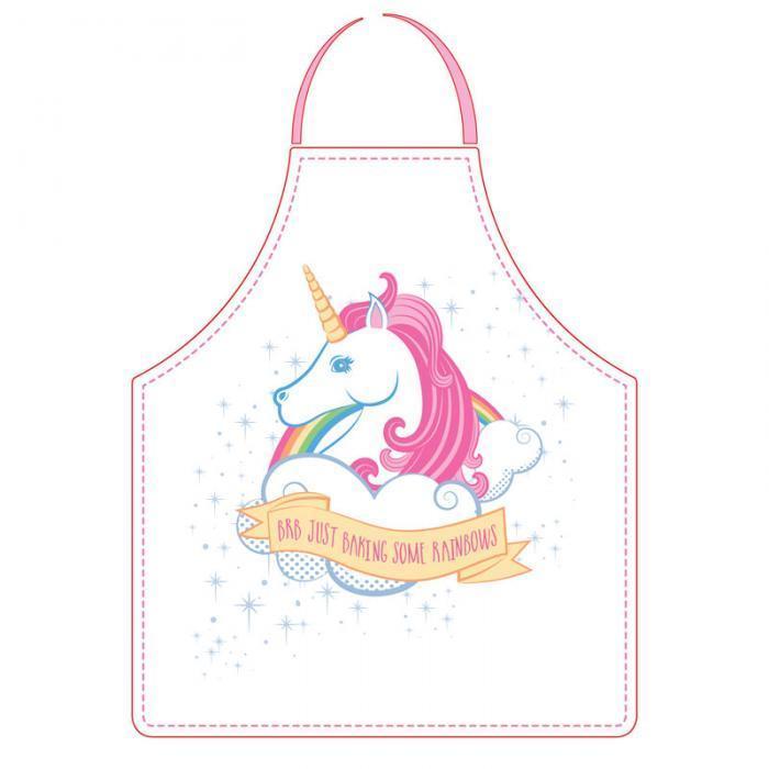 tablier de cuisine licorne