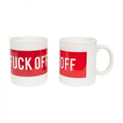 Mug Fuck Off Rouge
