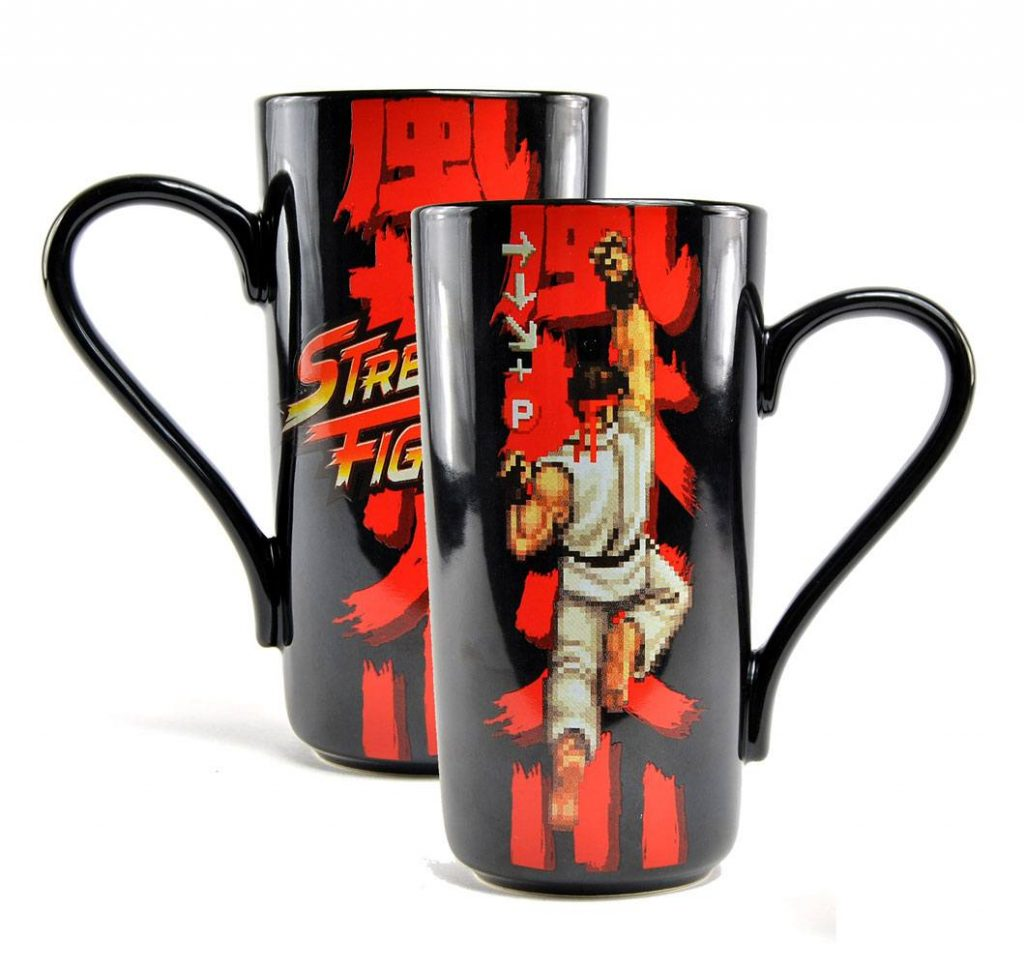 mug Street Fighter Hadouken