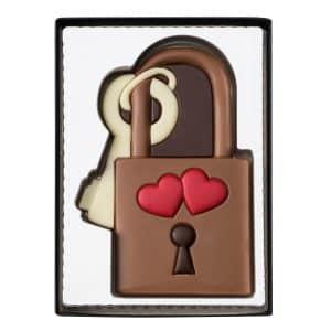chocolat cadenas pour amoureux