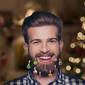 déco de noel barbe repas de noel