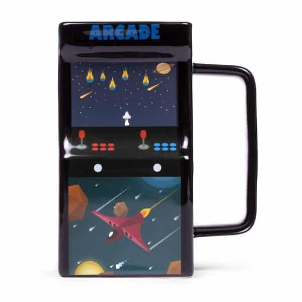 mug borne d'arcade