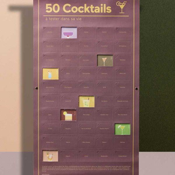 poster 50 cocktails