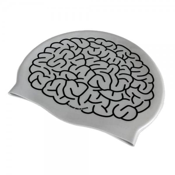 bonnet de bain cerveau