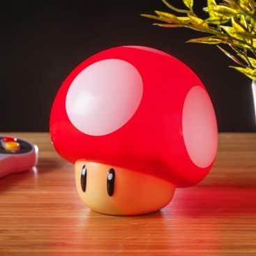 lampe champignon Mario Nintendo