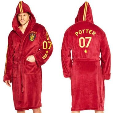 peignoir Harry Potter Quidditch