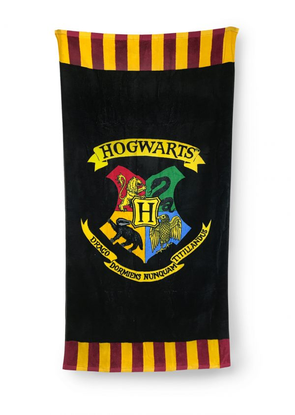 serviette de bain Harry Potter