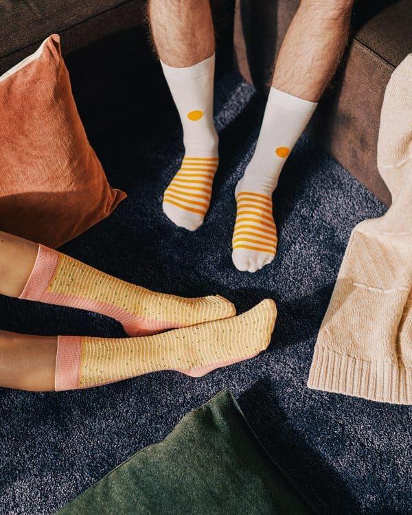 chaussettes ramen japonaises