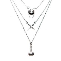 collier pendentifs Thor Avengers