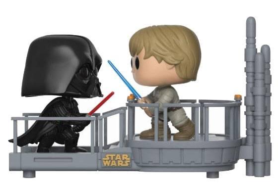 figurine Bubble Head Funko Pop Dark Vador vs Luke Skywalker