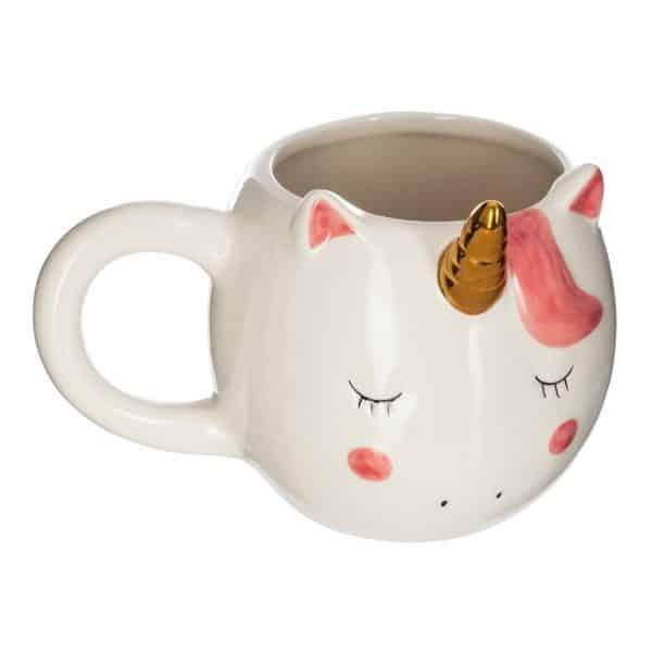 mug licorne tout rond