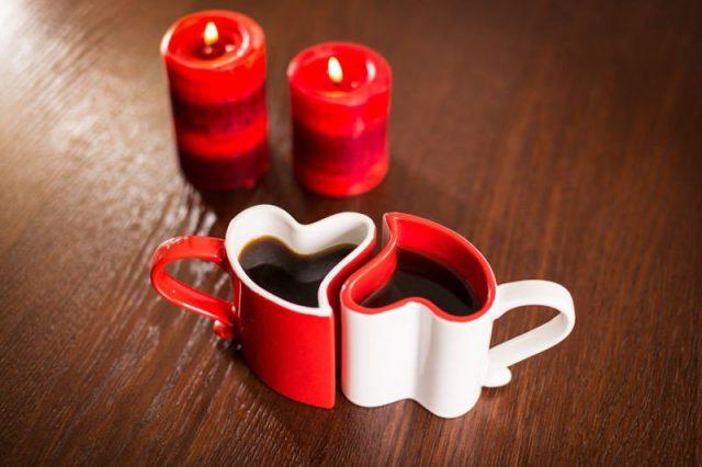 mug coeur couple romantique