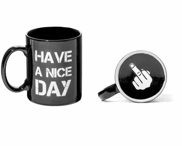 mug bonne journée fuck