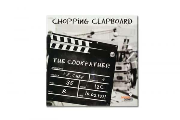 planche de cuisine clap de cinema