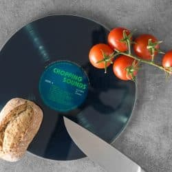 planche disque vinyle