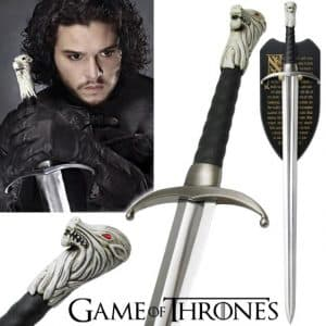 épée de Jon Snow en mousse (Game of Thrones)