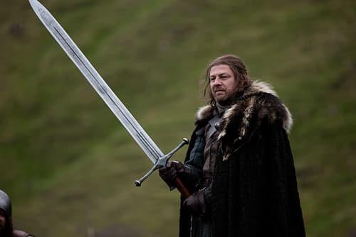 réplique de l'épée de Ned Stark Game of Thrones