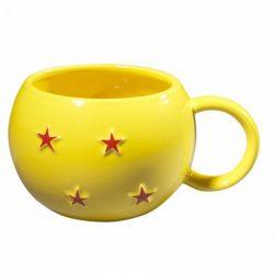 Mug Dragon Ball Z boule de cristal en céramique jaune