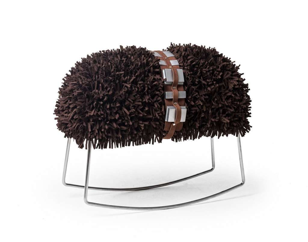 Pouf Chewbacca design