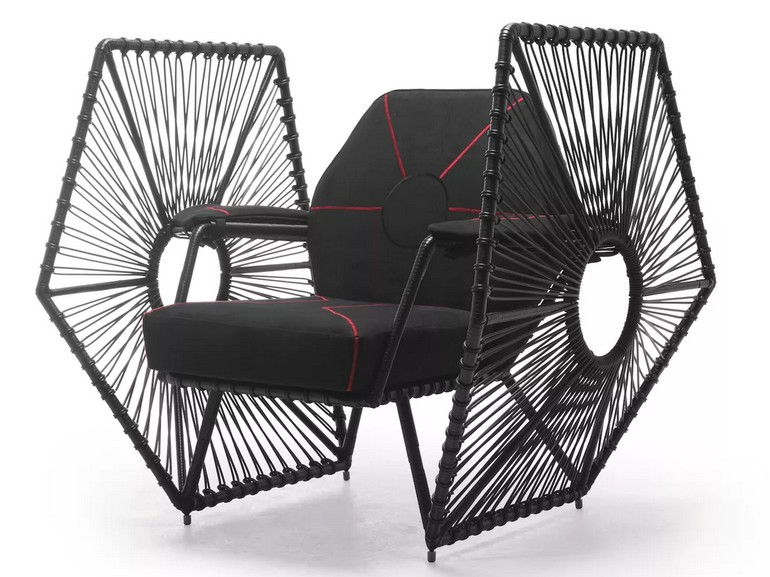 Fauteuil Tie and Fighter contemporain