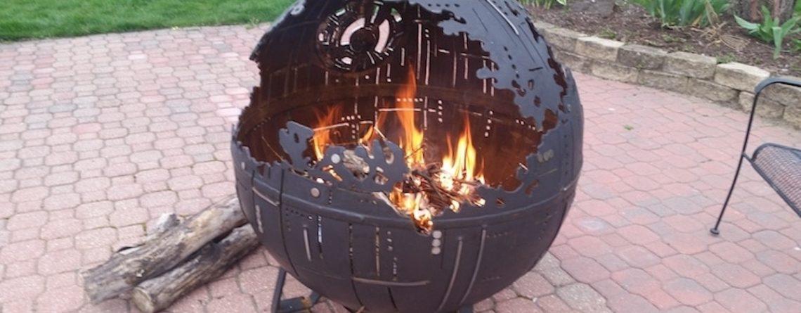 Barbecue étoile noire Star Wars
