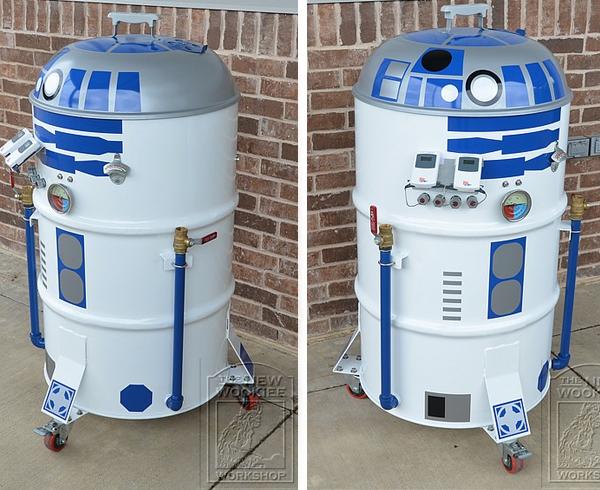 Barbecue R2 D2