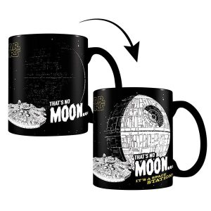 mug Star Wars that's no moon