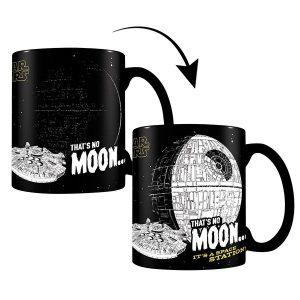 mug Star Wars that's no moon