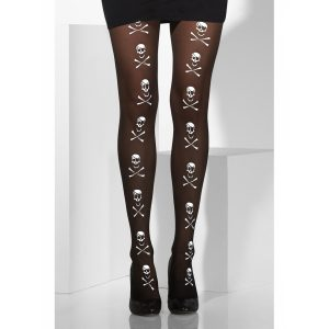collants tete de mort
