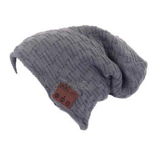 bonnet avec écouteur bluetooth