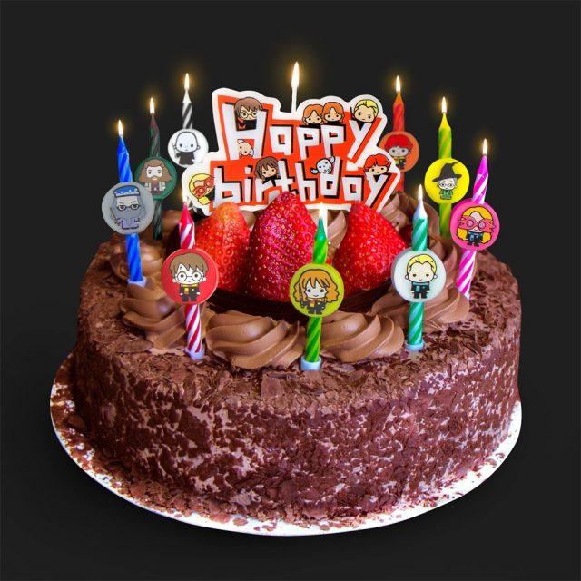 bougies d'anniversaire harry potter