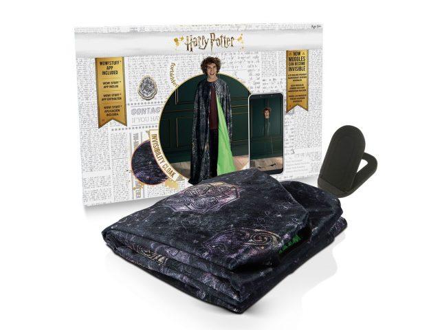 cape invisibilité Harry Potter