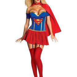 déguisement sexy super girl