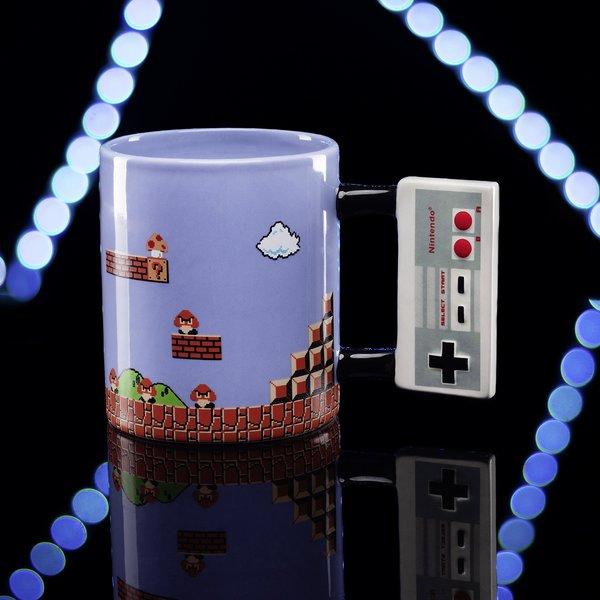 mug manette Nintendo Nes Mario