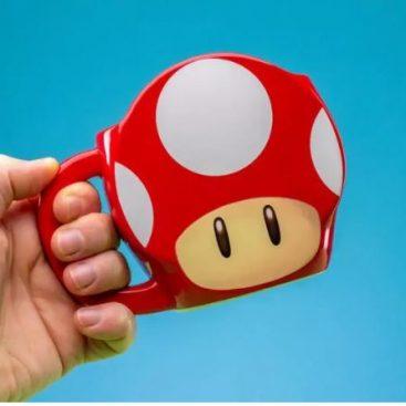 mug super mario champignon
