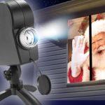projecteur fenetre Noel Halloween