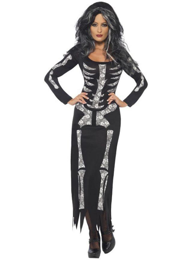 robe squelette