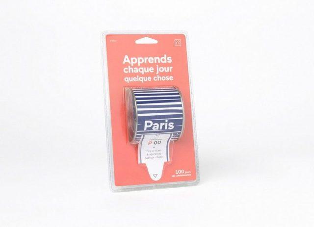 boite apprendre et découvrir Paris