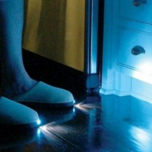 chaussons lumineux