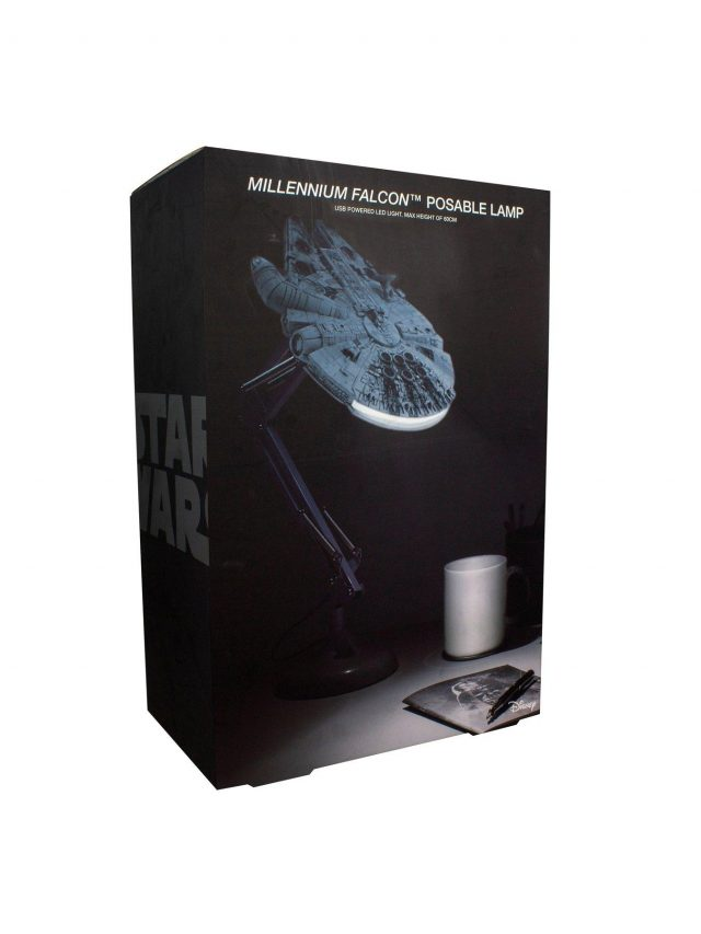 lampe de bureau Faucon Millenium Star Wars