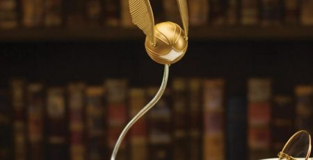 lampe clip Vif d'Or Harry Potter