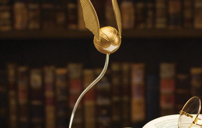 lampe clip Vif d'Or Harry Potter