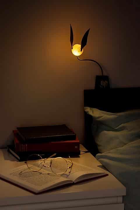 lampe vif d'or
