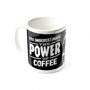 mug Star Wars power of coffee