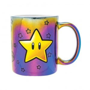 mug super mario metallic power