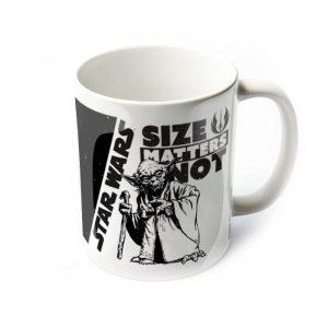mug yoda size matters not