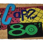 paillasson retour vers le futur café 80's