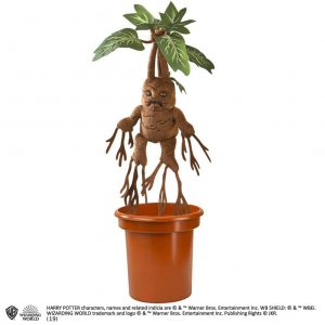 peluche mandrake Harry Potter